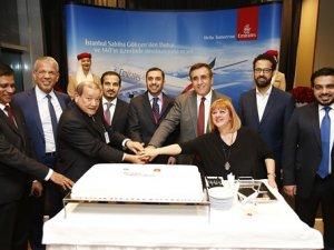 Emirates Sabiha Gökçen'e günlük sefer başlattı