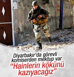 Diyarbakır'da Görev Yapan Komiserden Kurşun Gibi Sözler