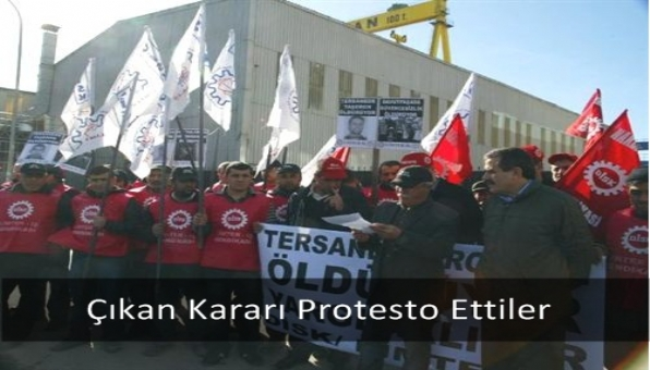 Çıkan Kararı Protesto Ettiler