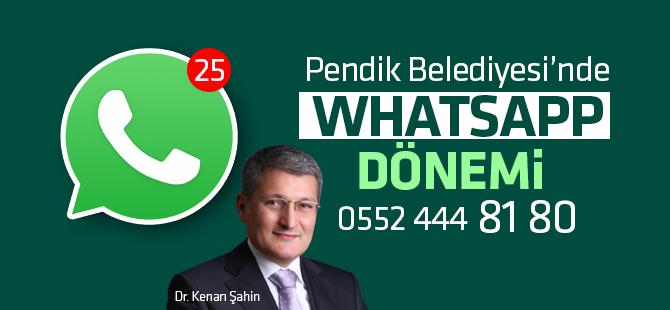 Pendik Belediyesi'nde Whatsapp Dönemi