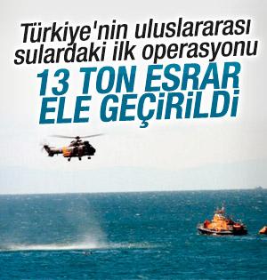 Türk askeri Libya'da Bolivya gemisine operasyon yaptı