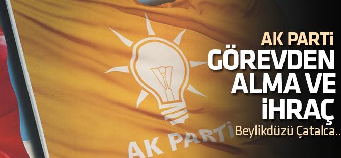 AK Parti'de Görevden Alma ve İhraç