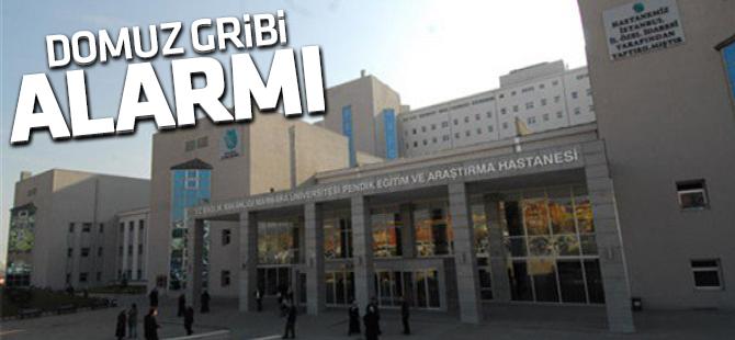 Marmara Eğitim ve Araştırma Hastanesi'nde  Domuz Gribi Alarmı