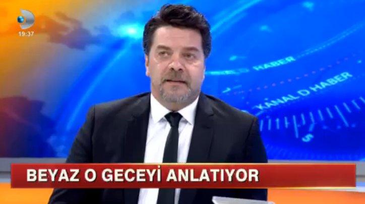 Beyazıt Öztürk Kanal D Ana Haber'de Özür Diledi