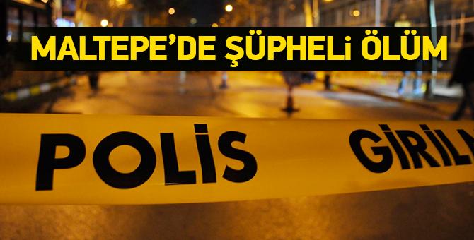 Maltepe'de Şüpheli Ölüm