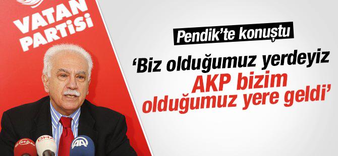 Perinçek: AKP Bizim Olduğumuz Yere Geldi