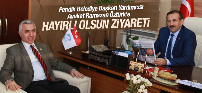 Gazetemizden Pendik Belediye Başkan Yardımcısı Av. Ramazan Öztürk'e Hayırlı Olsun Ziyareti