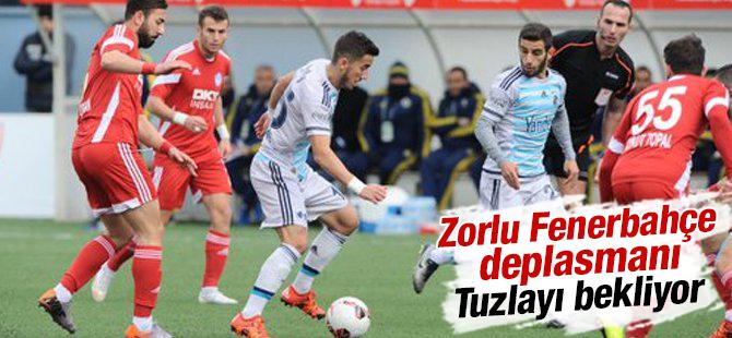 Zorlu Fenerbahçe Deplasmanı Tuzla'yı Bekliyor