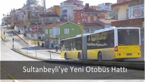 Sultanbeyli´ye Yeni Otobüs Hattı