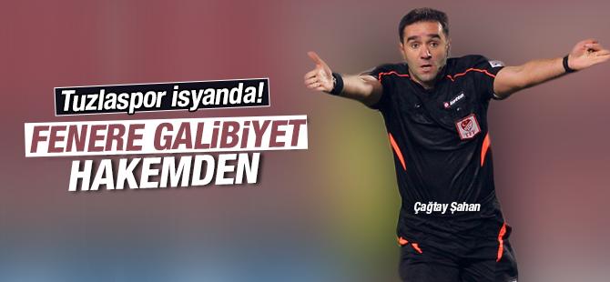 Tuzlaspor Hakeme İsyan Etti! Fenerbahçe:1 - Tuzlaspor:0