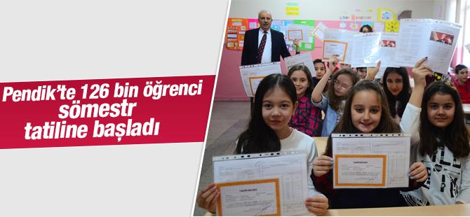 Okullarda Sömestri Tatili Başladı