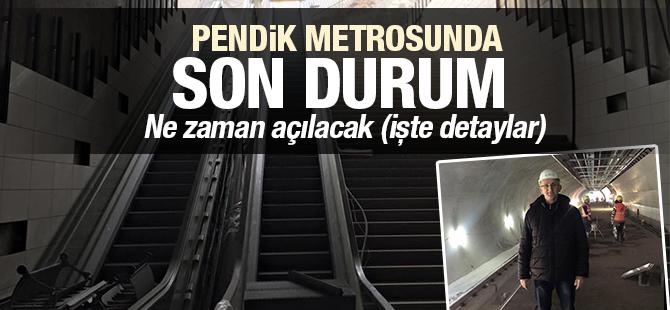 Pendik Metrosunda Son Durum! Ne Zaman Açılacak?