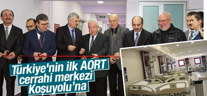 Türkiye'nin ilk AORT Cerrahi Merkezi Kartal'a Açıldı