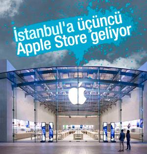 İstanbul'a üçüncü Apple Store mağazası açılıyor