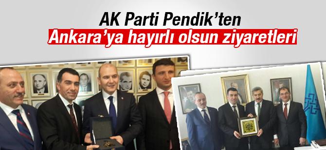 AK Parti Pendik'ten Ankara'ya Hayırlı Olsun Ziyaretleri