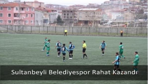 Sultanbeyli Belediyespor Rahat Kazandı