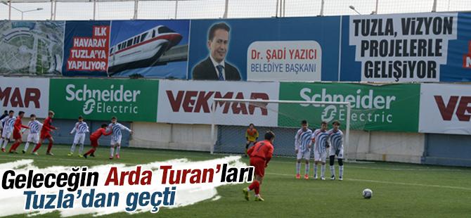 Geleceğin Arda Turan'ları Tuzla'dan Geçti