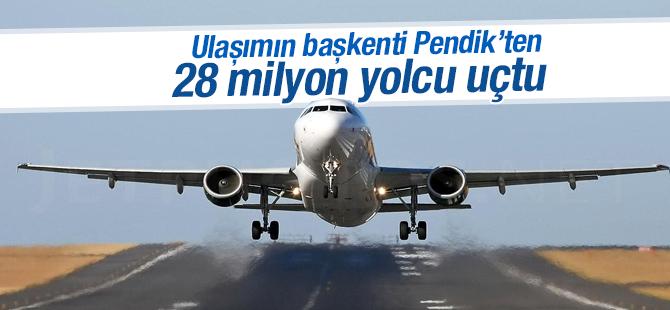 Sabiha Gökçen Havalimanı'ndan 2015'te 28 milyon yolcu uçtu