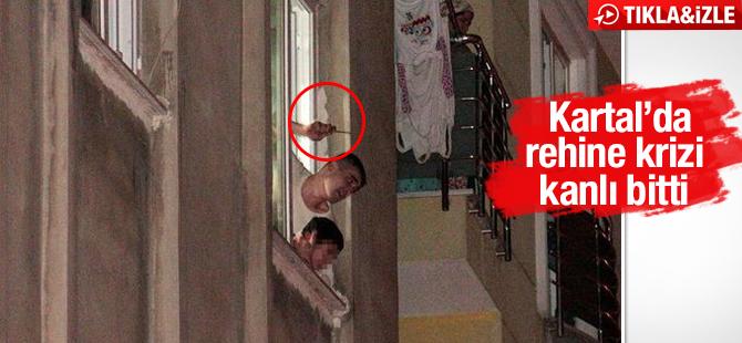 Kartal'da Rehine Krizi Kanlı Bitti! 10 Yaşındaki Çocuğu Rehin Alan Emre T. Öldürüldü