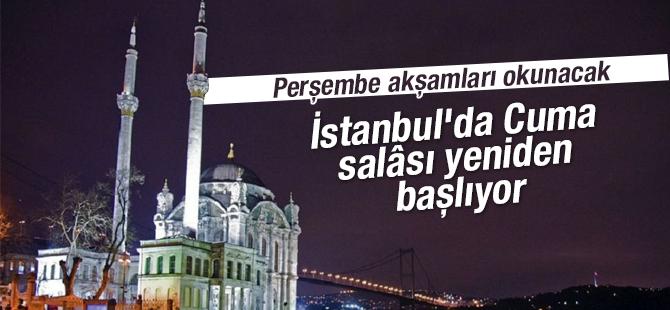 İstanbul'da Cuma salâsı yeniden başlıyor