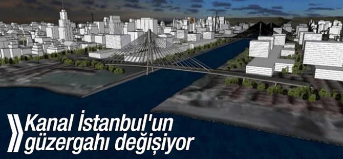Kanal İstanbul'un güzergahı yeniden ele alınacak
