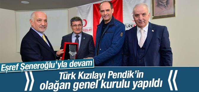 Türk Kızılayı Pendik'in Olağan Genel Kurulu Yapıldı