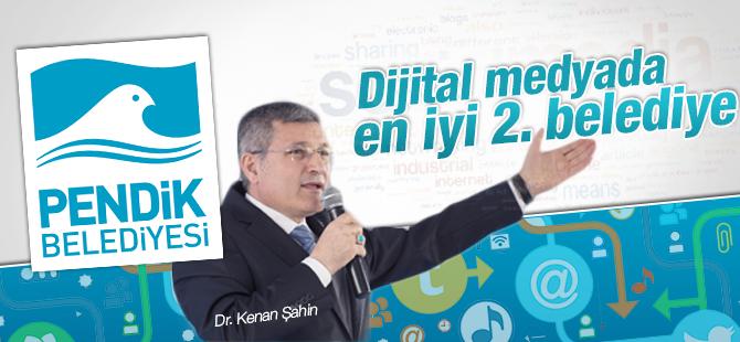 Dijital Medyada En İyi 2. Belediye