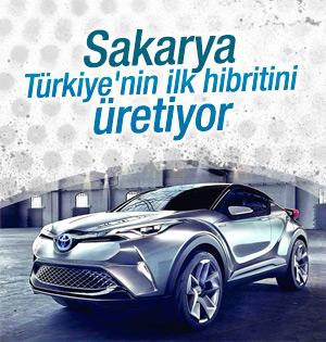 Türkiye'nin ilk hibrit otomobili Sakarya'da üretilecek