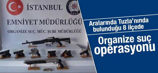 Organize Suç Operasyonu : 11 Gözaltı