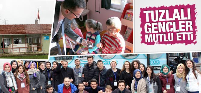 Tuzlalı Gençler, Düzce'deki Öğrencilerin Hayallerini Gerçekleştirdi