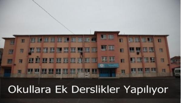 Sultanbeyli Okullara Ek Derslik Yapılıyor