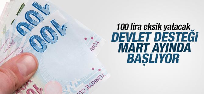 Şirketler marttan itibaren primleri 100 lira eksik yatırıcak