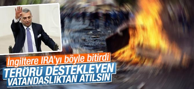 Metin Külünk; Teröre destek veren vatandaşlıktan atılsın
