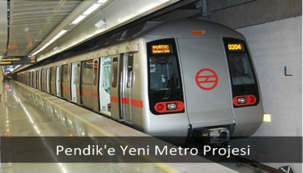 Pendik´e Yeni Metro Projesi