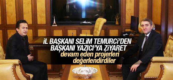 İl Başkanı Selim Temurci'den, Tuzla'ya Ziyaret