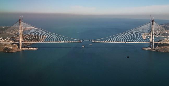 Yavuz Sultan Selim Köprüsü'nde Son Tabliyeyi Başbakan Yerleştircek