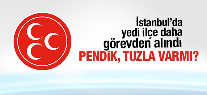 MHP İstanbul'da 7 İlçe Görevden Alındı! Atamalar Yapıldı