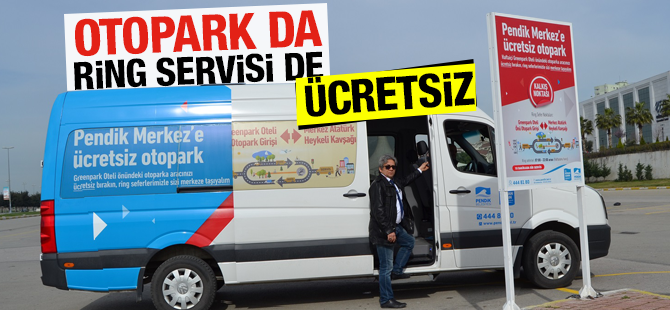 Otopark Da Ring Servisi De Ücretsiz