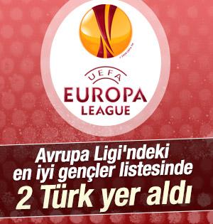 En iyi gençler listesinde 2 Türk
