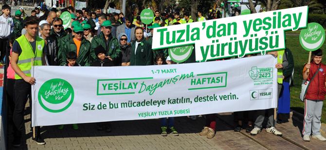 Tuzla'dan Yeşilay Yürüyüşü