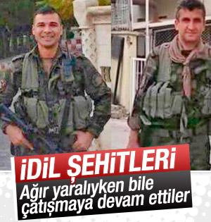 İdil'de şehit olan polisler ağır yaralıyken bile çatıştı