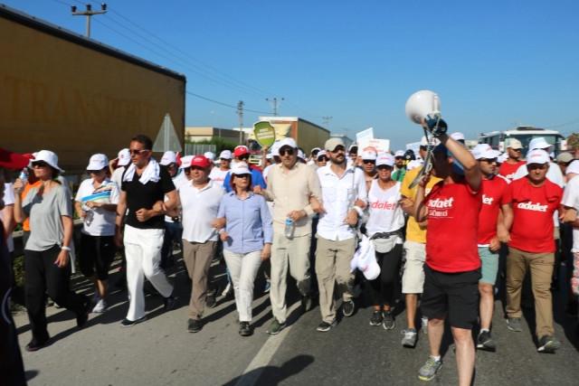 Adalet Yürüyüşü 23. gününde Tuzla'da Sona Erdi