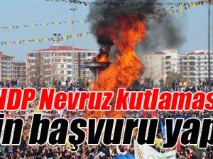 Katliamın ardından HDP Nevruz kutlaması için başvuru yaptı