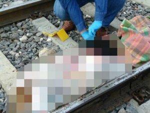 Suriyeli genç kadın trenin önüne atlayarak İntihar Etti