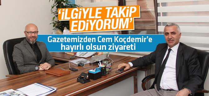 Gazetemiz'den, Pendik Basın Yayın Müdürü Cem Koçdemir'e Hayırlı Olsun Ziyareti