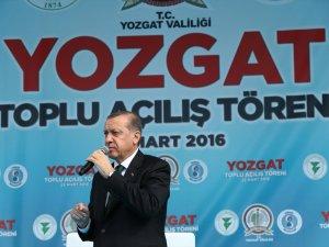 Cumhurbaşkanı Erdoğan Yozgat'ta Hızlı Tren ve Havalimanı Müjdesi Verdi