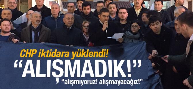 CHP Pendik İktidara Yüklendi: Alışmayacağız