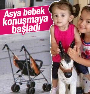 Taksim'de yaralanan Asya bebek konuşmaya başladı
