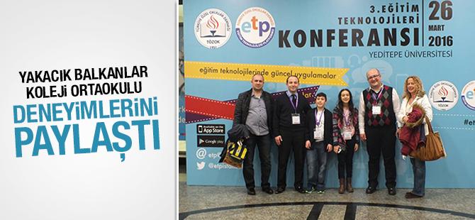 Yakacık Balkanlar Koleji Ortaokulu Deneyimlerini Paylaştı