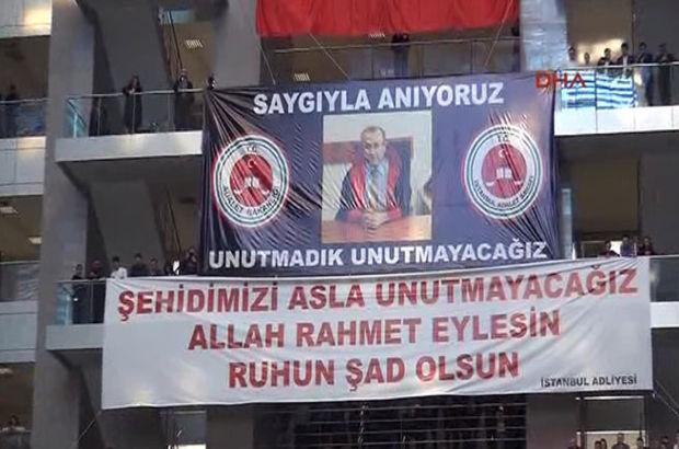 Şehit Savcı Mehmet Selim Kiraz Çağlayan Adliyesinde Anıldı